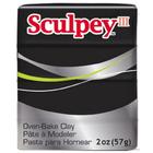 Sculpey/Polyform . SCU Black - Sculpey 2 oz