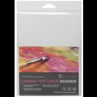 """Crescent Cardboard . CCB Crescent Canvas Board 3/Pkg 5""""X7"""" White"""
