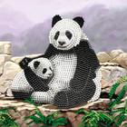 Craft Buddy . CBD Panda Valley - Crystal Art Kit (Large)