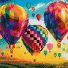 Craft Buddy . CBD Hot Air Balloons - Crystal Art Kit (Medium)