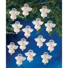 Beadery . BDR Holiday Beaded Ornament KitLittlest Angels