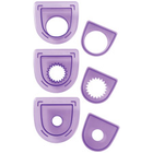 Wilton Products . WIL (DISC) - Cutting Insert Set - Circles