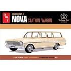 "AMT\ERTL\Racing Champions.AMT AMT 1963 Chevy ii Nova Sation Wagon ""Craftsman Plus Series"" 1/25 Model Kit (Level 2)"