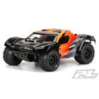 "Pro Line Racing . PRO Pro-Line Pre-Cut Monster Fusion Clear Body for  PRO-Fusion SC 4x4, Slash 2wd & Slash 4x4 with 2.8"" MT Tires"