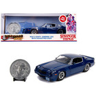 Jada Toys . JAD 1/24 Hollywood Rides - Stranger Things - Billy's Chevy Camaro Z28 w/ Coin