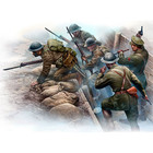 Masterbox Models . MTB 1/35 British Infantry Before The Attack, WWI