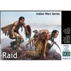 Masterbox Models . MTB 1/35 Raid Indian Warriors on Warpath w/Weapons (2)