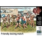 Masterbox Models . MTB 1/35 Friendly Boxing Match British And American Paratroopers WWII
