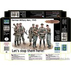 Masterbox Models . MTB 1/35 Let's Stop Them Here German Military Men 1945