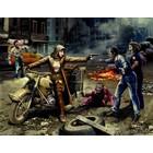 Masterbox Models . MTB 1/35 Zombie Hunter Road To Freedom Zombieland Series