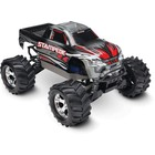 Traxxas Corp . TRA Traxxas Stampede 4X4 brushed Titan 12t motor and XL-5 ESC Silver