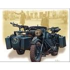 Masterbox Models . MTB 1/35 German Motorcycle WWII