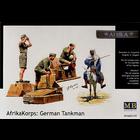 Masterbox Models . MTB 1/35 Deutsches Afrika Korps WWII