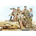 Masterbox Models . MTB 1/35 Rommel And German Tank Crew DAK WWII