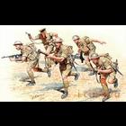 Masterbox Models . MTB 1/35 WWII British Infantry Africa