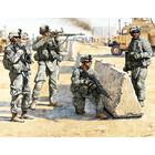Masterbox Models . MTB 1/35 US Check Point In Iraq