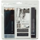 Royal (art supplies) . ROY Sketching Pencil Set  21 Piece