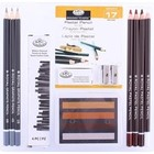 Royal (art supplies) . ROY Pastel Pencil Art Set