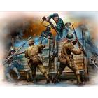 Masterbox Models . MTB 1/35 Hand To Hand Fight German British Infantrymen WWI