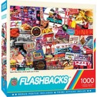 Master Pieces (Puzzles) . MST Quick Stop Diner Signs Collage 1000 pcs