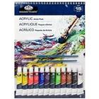 Royal (art supplies) . ROY Acrylic Art Paint Set