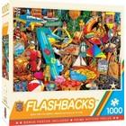 Master Pieces (Puzzles) . MST Flashbacks Beach Time Flea Market Collage 1000 pcs
