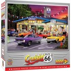 Master Pieces (Puzzles) . MST Crusin Route 66 Pitstop Service & Repair Station 1000pcs