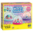 Creativity for kids . CFK Make Your Own Water Globes  Sweet Treats