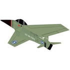 Gayla Industries . GAL 46'x35' Top Gun Airplane 3D Nylon Kite