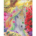 Craft Buddy . CBD Unicorn Forest - Crystal Art Kit (Large)