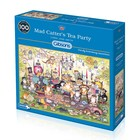 Gibsons Puzzles . GIB Mad Catters Tea Party Puzzle