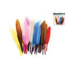 MultiCraft . MCI Goose Feathers Multi Colour Mix