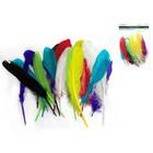 """MultiCraft . MCI 8"""" Goose Feathers x12 Multi Mix"""