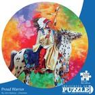 Cap Puzzles . CAP PROUD WARRIOR 500 PIECE ROUND PUZZLE