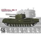 AFV Club Hobby Fan . AFV 1/35 British Infantry Tank Churchill Mk. V