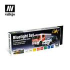 Vallejo Paints . VLJ Bluelight Set Model Air ( 8 Colour Set)