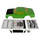 Associated Electrics . ASC Team Associate DR10 Reakt Drag Body green