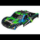 Traxxas Corp . TRA Traxxas Body, Slash 4X4, Green And Blue