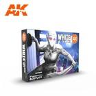 A K Interactive . AKI White Colors Set