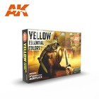 A K Interactive . AKI Yellow Essential Colors Set