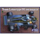 Ebbro . EBB 1/20 Team Lotus Type 91 1982