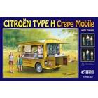 Ebbro . EBB 1/24 Citroen H Van Crepe Mobile With Figure