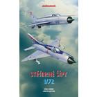 """Eduardo Model Acc. . EDU 1/72 """"Stribrne Sipy"""" (Silver Arrows) MiG-21PF/PFM [Limited Edition]"""
