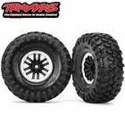 """Traxxas Corp . TRA Traxxas Tires and Wheels, Assembled, Glued 1.9"""""""