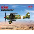 Icm . ICM 1/32 CR. 42AS WWII Italian Fighter-Bomber