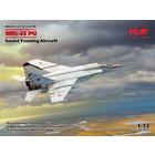 Icm . ICM 1/72 MiG-25PU, Soviet Training Aircraft