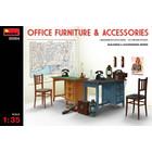 Miniart . MNA 1/35 Office Furniture & Accessories