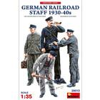 Miniart . MNA 1/35 German Railroad Staff 1930-40s