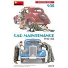 Miniart . MNA 1/35 Car Maintenance 1930-40s