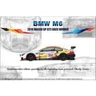 Platz Models . PLZ 1/24 BMW M6 2018 MACAU GP GT3